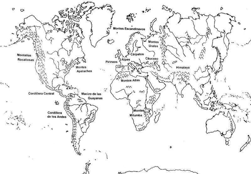 Mapas mudos | Educando Juntos